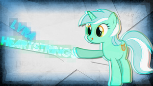 Lyra heartstrings Wallpaper by Lktronikamui