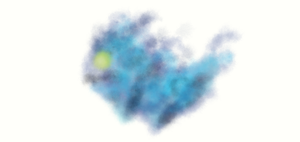 another blue sprite drawing by PrideAlchemist7