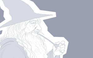 Gandalf The Grey by queensarwa