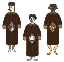 Six Dogs in Three Disguises by 101dalfan