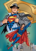 Superman by Amaryth