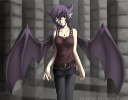 Demoness by kamifish