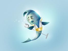 Elvis Fish by martypetrova