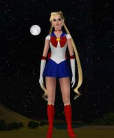 Sims 3 Sailor Moon by Cassini90125