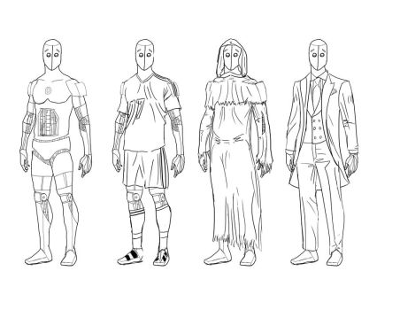 Android Outfit designs by vault122