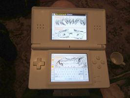 Pictochat Self Portrait by pickassoreborn