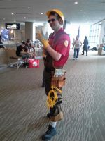 ECCC pictures: Engie by ParadoxialGamer