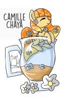 - Camille Chaya - (OC)  POND PONY CUP  by Angel-Coffee