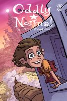 Oddly Normal Issue 3 Cover by OtisFrampton