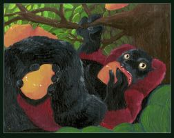Glutton - Redruffed Lemur by Aspendragon