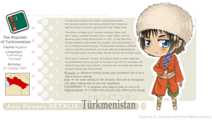 Turkmenistan PROFILE by TOXiC-ToOtHpAsTe