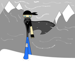 Lone Wolf among Mountains... by 115spartan
