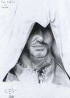 Portrait Studies 3 - Ezio by Ansem1000