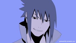 Sasuke's rape face by justwant2fly