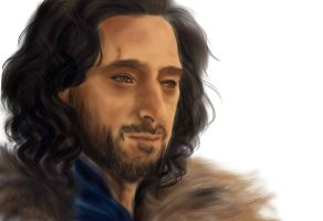 Adrien Brody as Tiberius in Dragon Blade by snagsephy