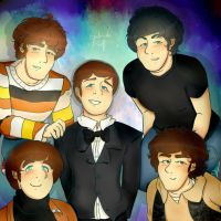 The Beatles-We are five! by Coffee-Coke