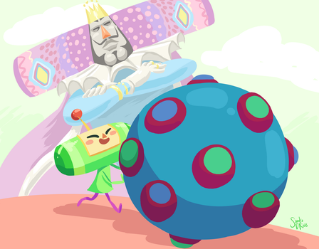 Katamari Damacy AGDQ 2017 by happydoodle