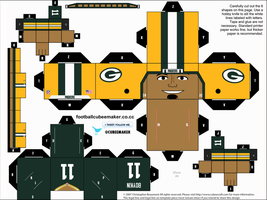 Jarrett Boykin Packers Cubee by etchings13