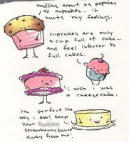 cheesecake rules all by katiecandraw