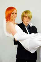 Nami and Sanji+Thriller Bark+2 by SanjiroCosplay