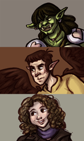 Commissionary Portraits by ph00