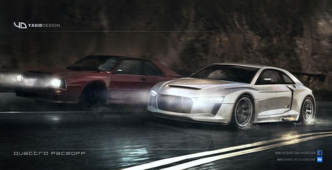 V and C audi quattro faceoff 2 by yasiddesign