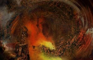 The Lustful     Dante's Inferno by kenernest63a