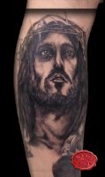 jesus tattoo by loop1974