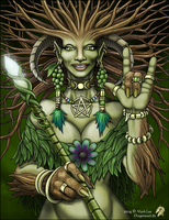The Tree Woman by DragonessLife