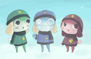 Snow Frogs by Sylladexter