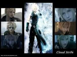 Cloud Strife - Emotion Within by del-kai-boi