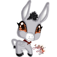 Paco the donkey by Laddy-of-Fire