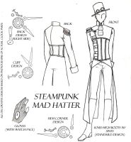 Steampunk Mad Hatter by Dusk-Wolf