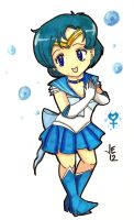 Super Sailor Mercury Chibi by jenni0014