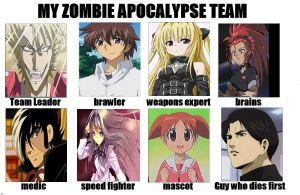 Zombie fighters by cargirl64