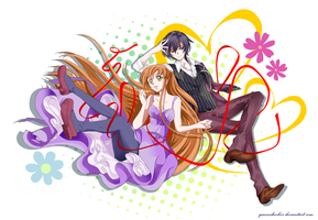 (Request) Lelouch and Shirley by queenshocker