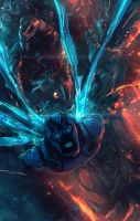 Blue Beetle by Memed