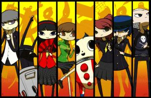 Persona 4 by AuraHACK