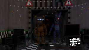 Fnaf 2 Office by luizcrafted