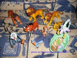 My old LionKing figures by MoondragonEismond