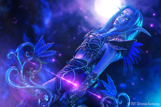 New cosplay! Tyrande Whisperwind by Narga-Lifestream
