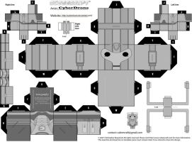 Cubee - Cyberman 'Cybus' by CyberDrone