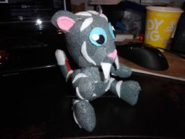 Finished commissioned plushie ^.^ by Mandy-Lou-Plushies