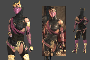 Cutscene Mileena Pose (And more) for XPS by CombatClone