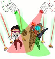 BIOSHOCK 2 RAVE PARTY by caboosemcgrief