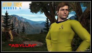 Star Trek Season 4 - Asylum by celticarchie
