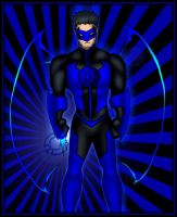 Blue Lantern Kyle by What-the-Gaff
