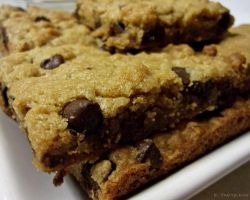 My Semi-Famous Chocolate Chip Cookie Bars by JeepFanatic