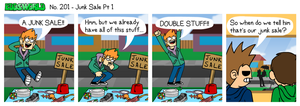 EWCOMIC No. 201 - Junk Sale Pt1 by eddsworld