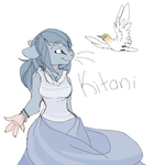 Kitani Anthro Sketch by MBPanther